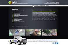 website design for oil tank services
