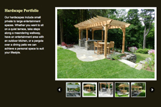 Website Design for Landscape NY