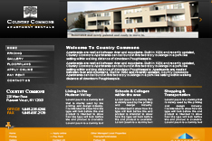 Website Design for apartment  complex